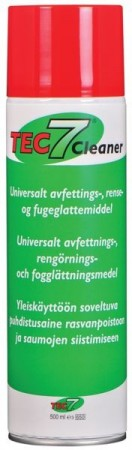 AVFETTINGSMIDDEL - TEC 7 CLEANER - SPRAY - 500 ML.